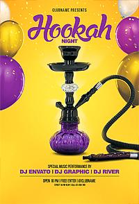 Hookah Party Flyer '14