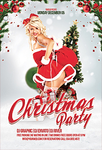 Christmas Party Flyer '14